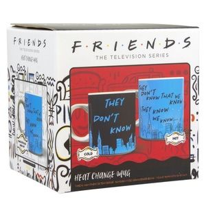 FRIENDS THEY DON'T KNOW HEAT CHANGING MUG